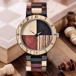 Business Luxury Wrist Fashion Casual Quartz Wooden Watches