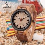 Timepieces hombre Quartz Wood Watch