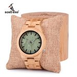 Bamboo Sport Quartz Dial Wood Watch