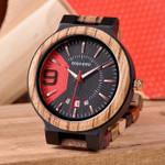 Wrist hombre Strap Wooden Watch