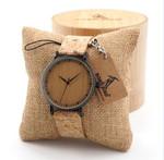Leather Quartz Vintage Luxury Wooden Watches