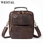 Genuine Leather Messenger Shoulder Handbag