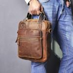 leather Fashion Shoulder Messenger Handbag