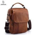 Genuine Leather Messenger Leather Shoulder Handbag