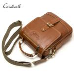 Shoulder Genuine Leather Messenger  Handbag
