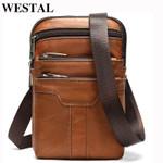 Shoulder small Messenger Genuine Leather Handbag