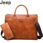 Leather Office Shoulder Business Handbags