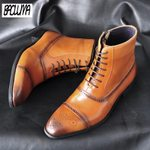 Leather Outdoor Lace-UP Ankle Classic Boots
