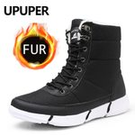 Fur Warm Casual Unisex Waterproof Snow Boots