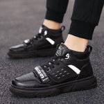 fashion small new trend wild high-top shoes