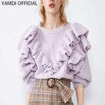 pullover knitted fashion bohemian sweater