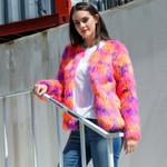 Elegant Cardigan Loose Warm Faux Fur  Fashion Boho Coats