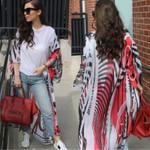 Floral Zebra Cardigan Cover Up Chiffon Kimono Boho Coat