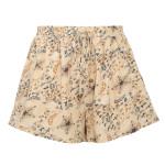 Elastic Waist Casual  Chic Star Floral Print Boho Shorts