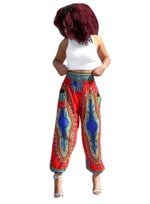 Totem Digital Printed Loose Casual Bohemian Pants
