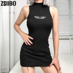 vintage sling sexy Party Fitted Elegant Bodycon Dresses