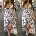 Tunic  Long Floral Dress