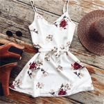 Sexy Casual Elegant Strap Floral Dress