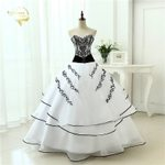 Classical A line Vintage Ball Gown Wedding Dresses