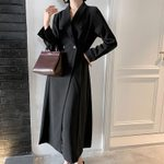 Elegant Double breasted Office Blazer Dresses