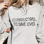 Quote Anatomy Fashion Graphic Printed Sweatshirt