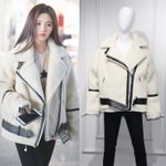 Lambs Wool Fur Collar Fashion Faux Lamb Leather Short Jacket