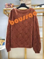 slim Soft knitted  pullovers long sleeve casual sweate