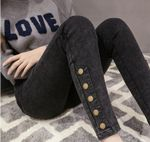 Stretch Skinny Pencil Elastic High Waist Jeans