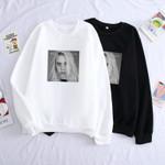 Casual Billie Eilish Print Sweatshirt