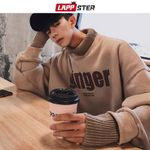 Hip Hop Turtleneck Fleece Korean Fashion Sweatshirts