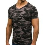 Short Sleeve Slim-Fit Breathable Fashion Camouflage T-Shirt