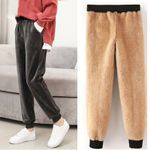 Thick Casual Loose Causal Harem Warm Pants
