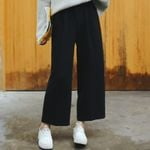 High Waist Loose Casual Trousers Fashion  Wide Leg Pants