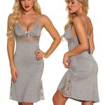 Lace Mesh Hollow sexy Bow Lingerie Backless Sleepwear