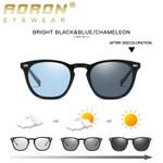 Classic Round TR Frame Aluminum Polarized Sunglasses