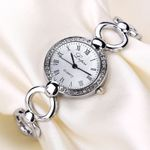 Stainless Steel Casual Metal Quartz wrist watches