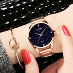 Waterproof Simple Fashion Casual Crystal Bracelet Watch