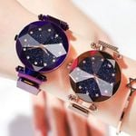 Magnetic Starry Sky Clock Luxury Fashion Diamond Watches