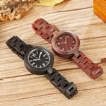 Simple Design Small Bracelet Natural Wood Watch