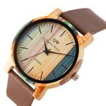 Sports Quartz Bracelet Fashion Casual Luxury Wood Watch