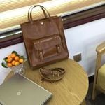 PU Leather Shoulder Messenger Vintage Handbag