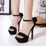 Concise platform Peep Toe fashion Super High Heels