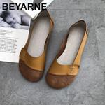 fashion casual soft soled retro flat shoes