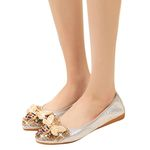 Comfortable Rhinestone Soft Crystal string bead Flat Shoes