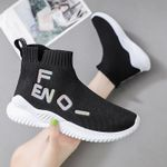 Vulcanize Slip on Casual  Elastic Force Socks Shoes