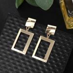 Hollow Square  Fashion Jewelry Geometric Earrings