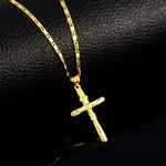 wedding jewelry Cross charm pendant necklaces