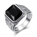 Square Fine Fashion Charm Resin Ring