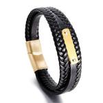 Fashion Charm Jewelry Punk Cool Genuine Leather Bracelets