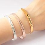 Jewelry Stainless Steel Montage Diem Bracelets